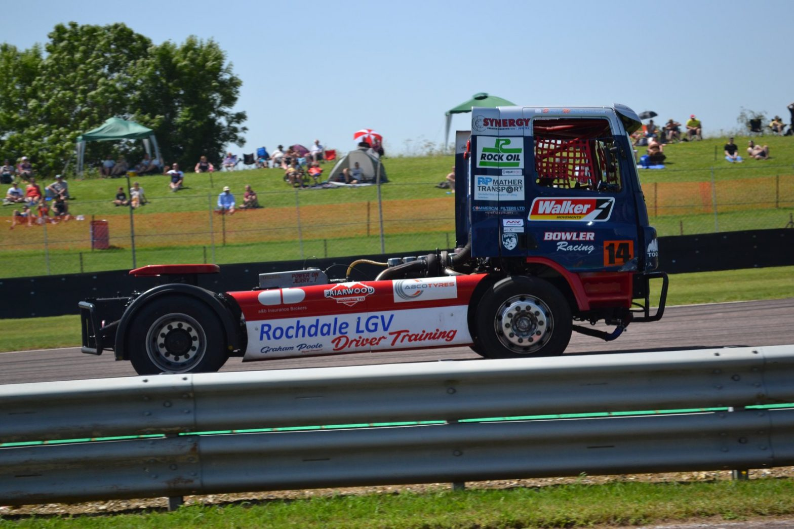 ABCO Tyres sponsors Bowler Truck Racing